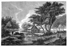 Poetic Landscape - 19th Century