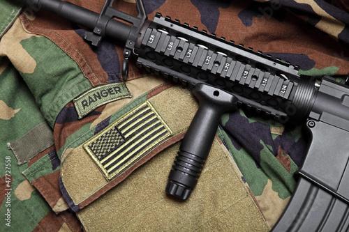 Fotografía  U.S. Army Ranger Still Life