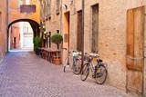 Średniowieczna uliczka
