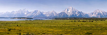 Panorama Du Parc National De Grand Teton, Wyoming USA