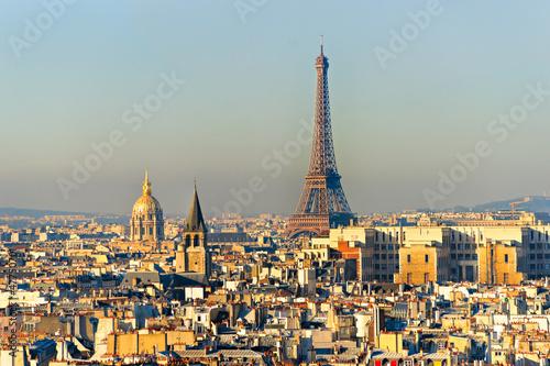 Aluminium Prints Paris View of eiffel tower, Paris.