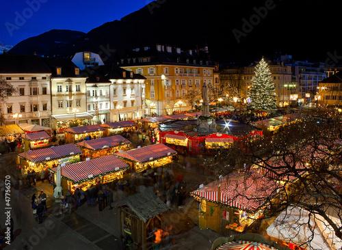 Fotografie, Obraz  Christmas market in Bolzano