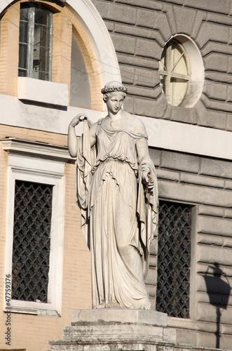 Fotografija  Allegorical statue of Spring in Rome, Italy