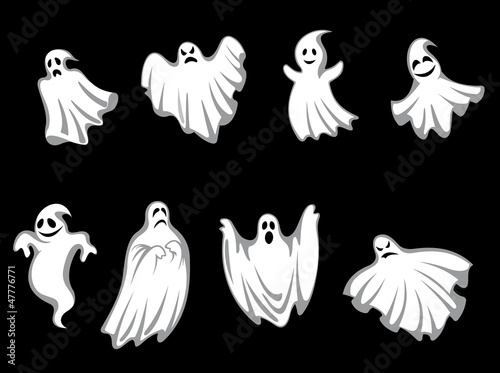 Photo  Mystery halloween ghosts