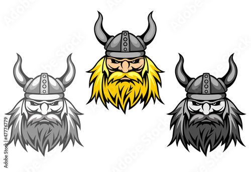 Tela Agressive viking warriors