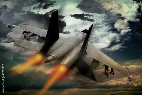 Fighter Jet Wallpaper Mural