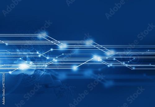 Fotografie, Obraz  Communication Background