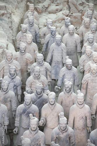 Foto op Plexiglas Xian The Terracotta Warriors, Xian, China
