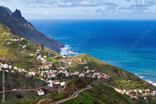 Photo sur Aluminium Iles Canaries Taganana Village, Tenerife