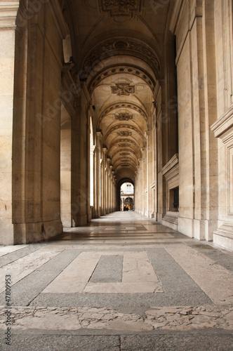 Photographie  galerie Musée du Louvre à Paris