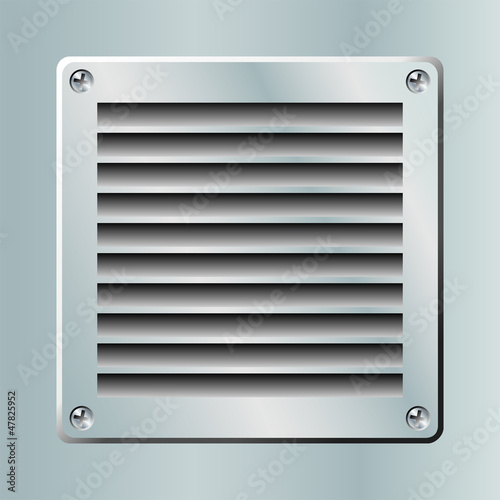 Fotografija  Grille ventilation, aération.