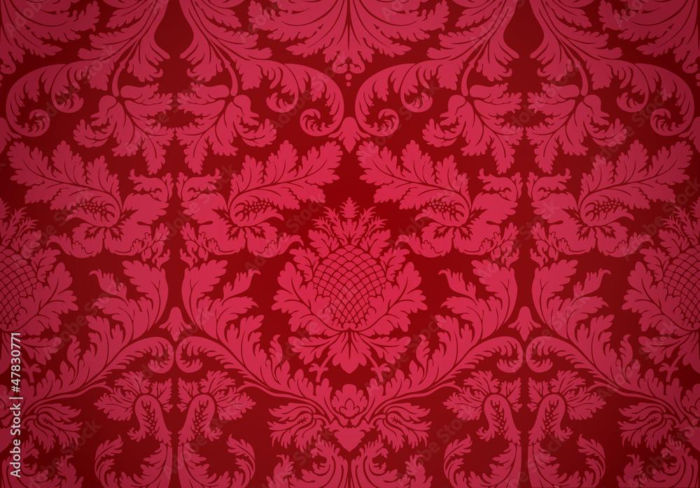 Old wallpaper Fototapeta