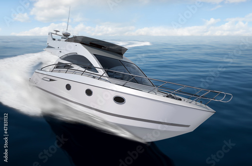 Photo Stands Shipwreck yacht render 6