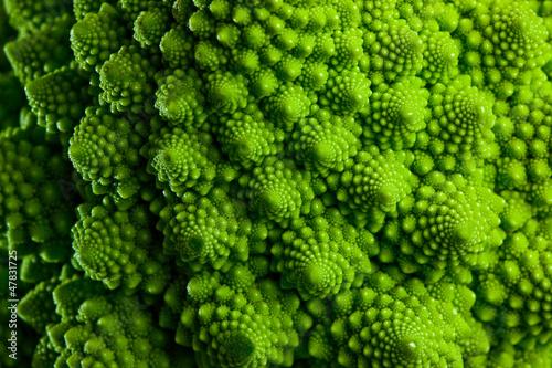 Fotografia Romanesco broccoli cabbage marco