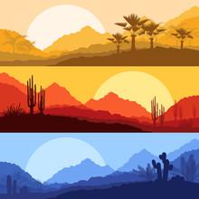 Desert Wild Nature Landscapes ...