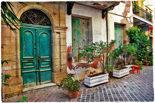 chania-kreta-stare-urocze-uliczki