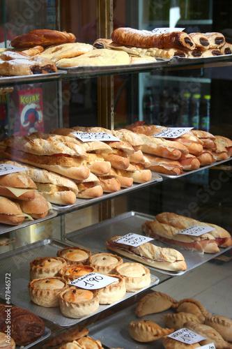 Deurstickers Bakkerij Palma pies