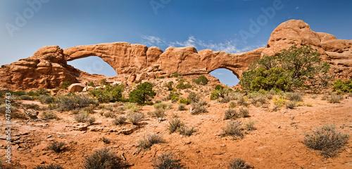 Poster de jardin Parc Naturel The Windows - Arches National Park, Utah - USA