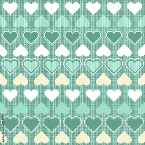 retro-desen-papier-scrapbook-serca-w-rzedach-turkusowe