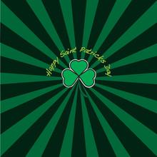 Saint Patricks Day Sunburst