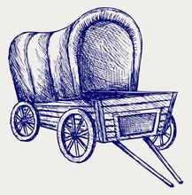 Vintage Van To Transport. Dood...