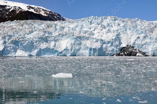 Fotobehang Gletsjers Aialik glacier, Kenai Fjords NP, Alaska