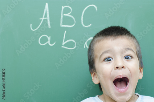 little boy screaming buy this stock photo and explore similar
