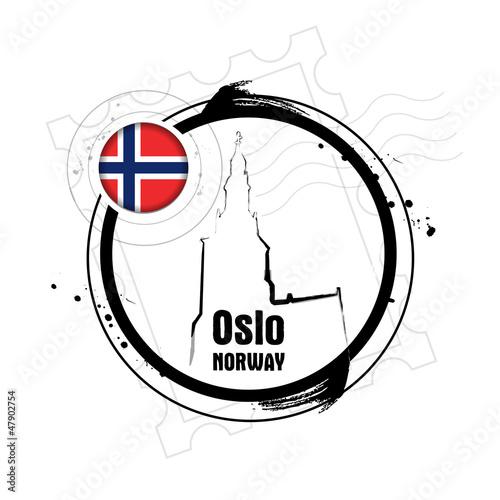 Photo  timbre Oslo