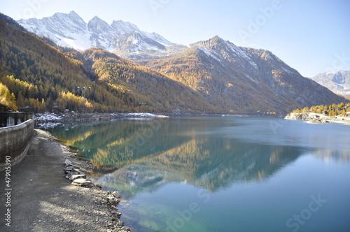 Poster Reflexion lago