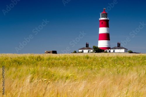 Garden Poster Lighthouse Happisburgh lighthouse