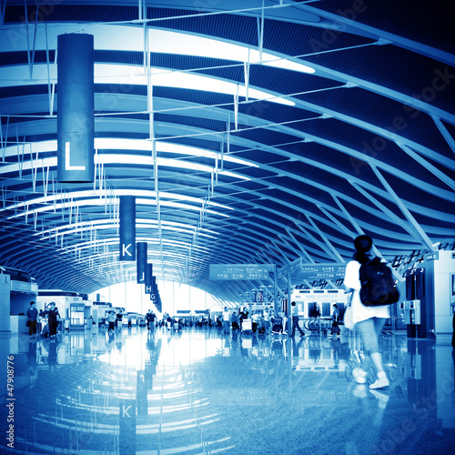 Poster Airport Motion traveler