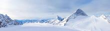 Ski Resort Zillertal Hintertuxer Glacier. Austria