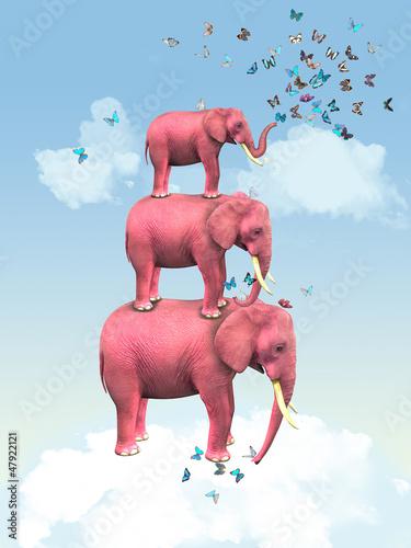rozowi-slonie-w-chmurach-z-motylami