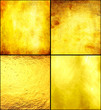 canvas print picture - Luxury golden texture.Hi res background.