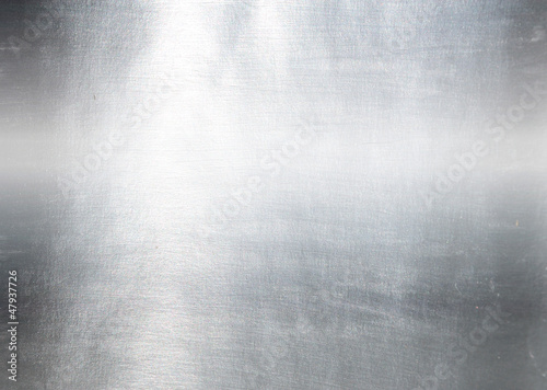 Tuinposter Metal Metal plate steel background. Hi res texture