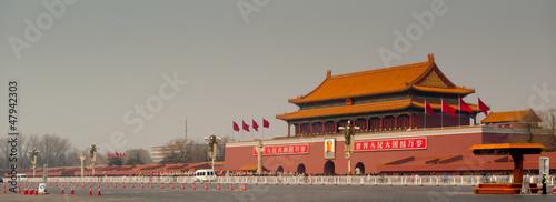 Foto auf Gartenposter Beijing Tiananmen Gate