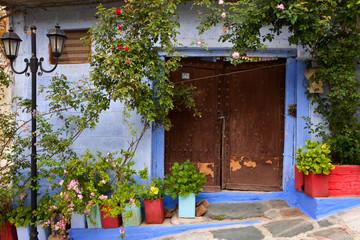 Fototapeta na wymiar old house in a greek village