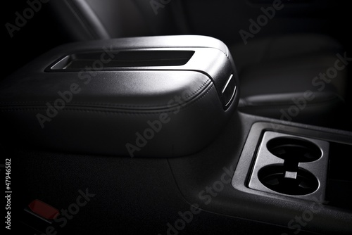 Photo Armrest and Cups Holder