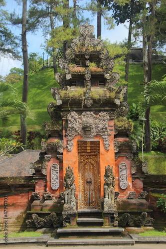 Foto op Canvas Balinese temple