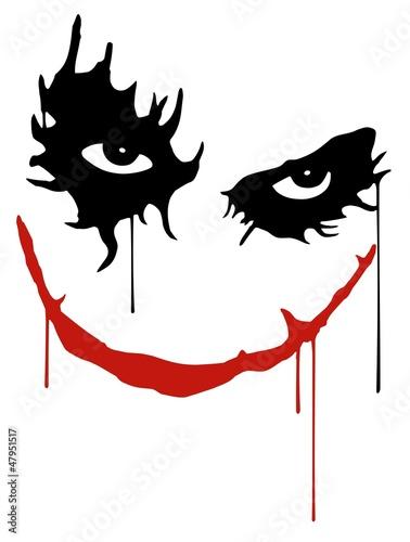 Fotografie, Obraz  Joker smile