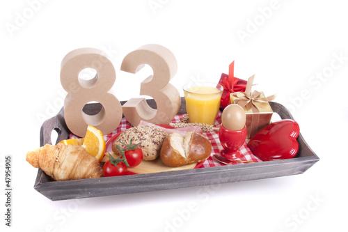Fotografia  Birthday breakfast