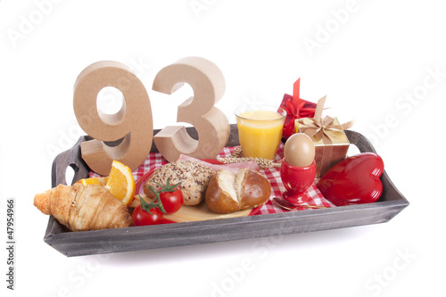 Valokuva  Birthday breakfast