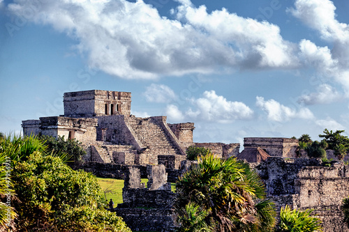 Canvas Prints Mexico Famous historical ruins of Tulum