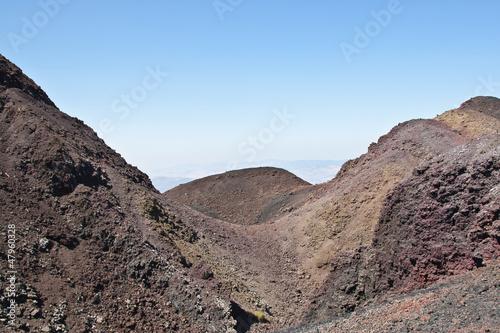 Fényképezés  from one side of the volcano