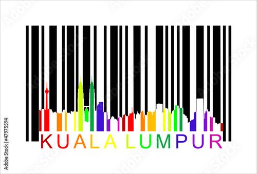Photo Kuala Lumpur Malaysia, vector