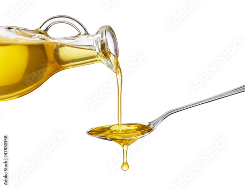 Fototapeta pouring oil obraz