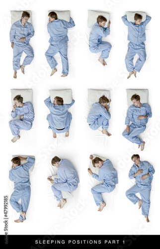 Photo  sleeping positions part 1
