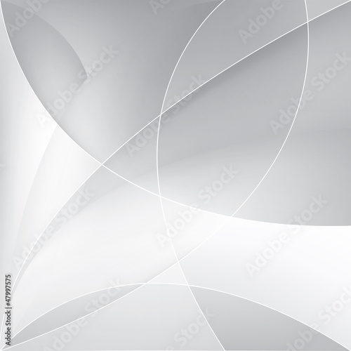 Abstract silver background, vector template