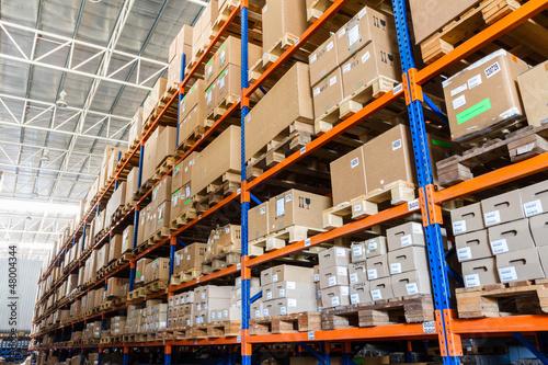 Fototapeta Industrial Warehouse obraz