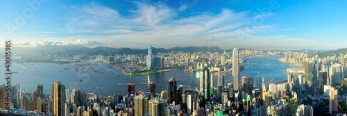 Foto op Plexiglas Hong-Kong Victoria Harbour